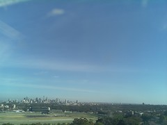 Sydney 2016 Oct 21 08:08 (ccrc_weather) Tags: ccrcweather weatherstation aws unsw kensington sydney australia automatic outdoor sky 2016 oct earlymorning