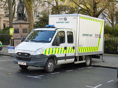 EX12JKZ (Emergency_Vehicles) Tags: london ex12jkz st john ambulance ld900