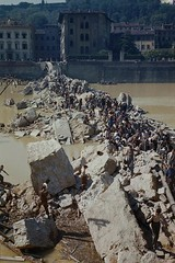 #Italian civilians clamber over the ruins of the Ponte Alle Grazia Bridge on the River Arno in Florence, destroyed by the fleeing Germans on 11 August 1944 [2251 x 3379] #history #retro #vintage #dh #HistoryPorn http://ift.tt/2fEyeVy (Histolines) Tags: histolines history timeline retro vinatage italian civilians clamber over ruins ponte alle grazia bridge river arno florence destroyed by fleeing germans 11 august 1944 2251 x 3379 vintage dh historyporn httpifttt2feyevy