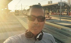 Opportunity to Move Forward Without the Help of Others (Blue Rave) Tags: iphonephotography iphoneography sandiego 2016 self myself ego me bloke dude guy male mate people selfie boseheadphones headphones headset sunglasses california ca