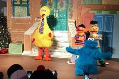 Sesame Place: A Sesame Street Christms Show (wallyg) Tags: asesamestreetchristmasshow abbysparadisetheater amusementpark buckscounty langhorne pennsylvania sesameplace sesamestreet show themepark bigbird bert ernie cookiemonster