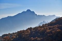 Armenia-Iran border... Gharadagh mountain from Syunik mountain. (daniel2085) Tags: syunik iranian armenian border odzasar ilandagh armenia iran karchevan meghri nordooz