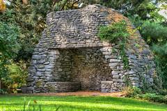 _DSC0720 Outdoor Fireplace (Charles Bonham) Tags: dowgardens midlandmi fall fallcolor sonya7r sonyfe70200f4goss fireplace stonework charlesbonhamphotography