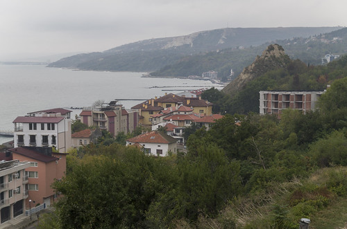 View to Balchik Palace, 07.10.2014.