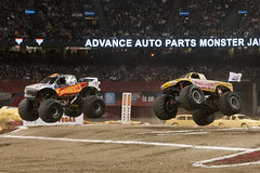 Monster Trucks (Ray Devlin) Tags: mercers benz superdome new orleans monster trucks