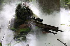 swamp sniper airsoft dmr ghillie (TheSwampSniper) Tags: airsoft sniper swamp bolt action ballahack marksman replica intervention elite force g28 novritsch owner field ghillie suit hood best dmr high powered spring aeg