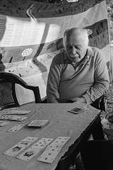 Card Game (Federico Pitto) Tags: bw nikonfe2 nikkor35mm28 trix d76 genova