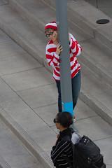 1612 Where's Waldo flashmob32 (nooccar) Tags: dtphx 1612 improvaz dec2016 nooccar cityscape devonchristopheradams whereswaldo contactmeforusage devoncadams dontstealart flashmob photobydevonchristopheradams