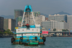 Hong Kong Victoria Harbor (amer.konjhodzic) Tags: hongkong hkg victoriaharbor ships ship boat boats vessel