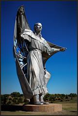 Dignity 7765 (GlasseyeA) Tags: dignity indigenous lakota nativeamerican plains sky stainless statue woman southdakota