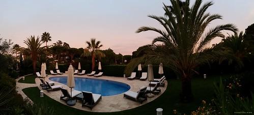 Albufeira (Algarve), Portugal - Appartmentanlage Vila Balaia (Panoramabild)