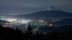 Mt.Fuji night scene (peaceful-jp-scenery (busy)) Tags: mtfuji lakekawaguchi fuji5lakes fujigoko shindopass landscape mountain worldheritage          sony 7r a7r ilce7r amount sal1635z variosonnart1635mmf28zassm carlzeiss laea4