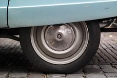 160925_SAM_8947 (Jan Jacob Trip) Tags: citron hartjeleidenrally leiden nx300m samsung autos blue wheel chrome tire pavement ami citroen metal exhaust