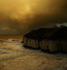 Any Port in a Storm (EmPhoto.) Tags: storm seascape rain wind cliffs thornwickbay yorkshire uk sonya7r sonyzeiss2470mm landscapepassion emmiejgee bonfirenight
