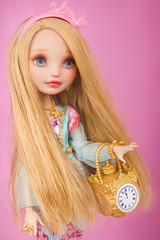 Ashlynn (Szklanooka) Tags: ashlynnella everafterhigh repaint custom doll princess