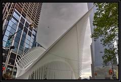 The Eagle Wing (mariogdb) Tags: hdr oneworldtradecenter wtc calatrava nyc eagle construccion edificio