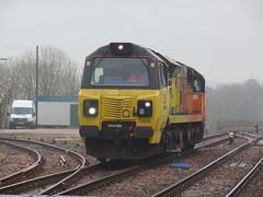70808 Liskeard (6) (Marky7890) Tags: colasrail class70 70808 6c36 liskeard cornwall train railway