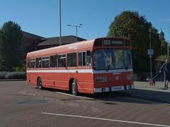 Preserved Ribble 808 (TRN808V) 02102016 (Rossendalian2013) Tags: preserved bus birkenhead woodside leylandnational ribble ribblemotorservicesltd nbc nationalbuscompany trn808v stagecoachribble chasebusservices fsv428 arrivamidlandsnorth premierebusesnottingham