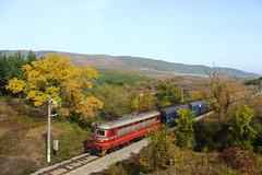 Diverted Coal (Krali Mirko) Tags: bdz freight cargo electric locomotive skoda 43510 bulgaria transport railway