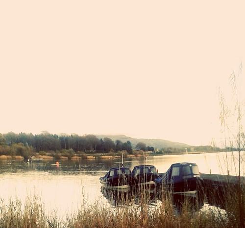 Loch Leven ferries .