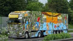 D - Brunner >Monument II< DAF XF 105 SSC (BonsaiTruck) Tags: herpa monument truck ii brunner airbrush daf xf 105 ssc lkw lastwagen lasdtzug trucks lorry lorries camion