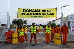 Doñana no es un almacén de gas (Jantbrown) Tags: greenpeace doñana gas natural protesta ecologistas canon 600d