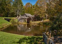 Mabry Mill (Tim Ravenscroft) Tags: mabrymill blueridgeparkway pond reflection virginia usa