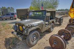 ATHS 30th Annual Antique Truck Show (dmentd) Tags: 1953 willys m38a1 jeep