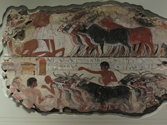 UK - London - West End - British Museum - Wall painting from tomb of Nabamun (JulesFoto) Tags: uk england london westend britishmuseum ancientegypt wallpainting tomb