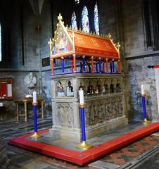 Saint's Shrine [In Explore 1 December 2016] (hurlham) Tags: memorial cathedral hereford saint