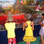 "Kids with Carnival Game at Botataung Paya <a style=""margin-left:10px; font-size:0.8em;"" href=""http://www.flickr.com/photos/14315427@N00/6920950432/"" target=""_blank"">@flickr</a>"