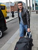 Roberto Del Rio WWE wrestlers outside of their hotel Dublin, Ireland