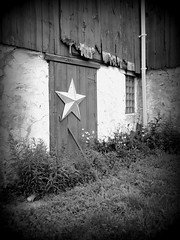 From the archives (cherrygurl) Tags: bw barn star picnik august2009