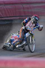 Ben Reade Cornering (Richard Amor Allan) Tags: bike mud bikes cycle stokeontrent rider speedway cycles riders motorcyles scunthorpesaints stokepotters loomerroad benreade