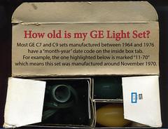 GE-light-set-date (JeffCarter629) Tags: christmaslights retrochristmaslights generalelectricchristmaslights c7christmaslights gec7cc howoldaremychristmaslightsgechristmaslights