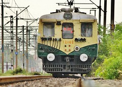 Upclose and personal (seeveeaar) Tags: india up electric train dangerous close personal emu chennai tamilnadu southindia