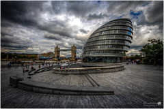London City Hall (LeePellingPhotography.co.uk) Tags: city bridge sky london tower art architecture hall moody riverside cityhall hill more foster lee friendly eco development gla partners pelling