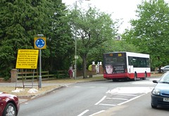 Abellio Surrey 8010 Y42 YVV (bobsmithgl100) Tags: bus pointer mini surrey dennis dart diversion plaxton woodham 8010 y42 route446 yvv abelliosurrey y42yvv woodhamlane