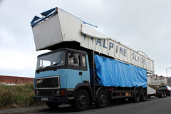 TV04803-Llandudno. (day 192) Tags: truck wagon lorry erf llandudno lorries eseries erfe transportshow transportrally fairgroundtransport llandudnotransportfestival f952gkx