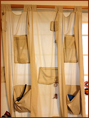 Day 126 Creative curtain (Dragon Weaver) Tags: house home living space curtain small decoration may pad storage tiny decor solution pockets 0506 2013
