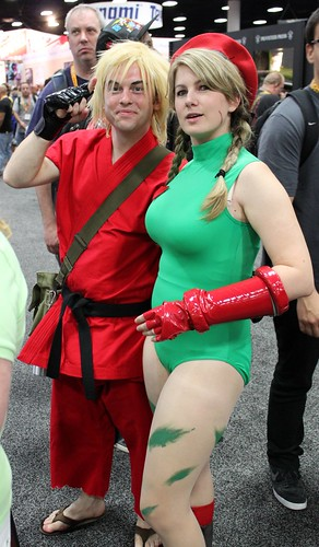 2012-Fans Dressed Up as Street Fighter Characters at SDCC-01