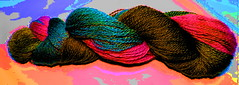Sock it to me yarn club may 2013 TEASER (ixchelbunny) Tags: club yarn fiber tops fibre ixchel ixchelbunny