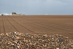 ... (scottsturgeon) Tags: blue brown building field stormy cotswolds dust stark rubble