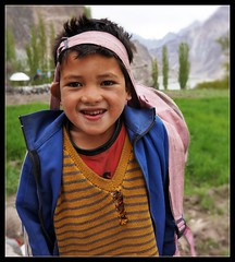 Cheeky little boy at Turtuk (Indianature26) Tags: india mountains april himalayas jk ladakh balti baltistan juley 2013 turtuk indianature julley ladakhchildren turtuktyakshi baltivillage ethnicbalti