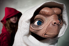 ET Phone Home (joyrex) Tags: red portrait film movie alien jacket jas et rood spielberg madametussauds