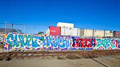 Shout, Rich, Snacki, Begr (TheHarshTruthOfTheCameraEye) Tags: 30 graffiti oakland rich guys dirty worst ever d30 shout nsf thr kwt dirty30 begr wge btuf snacki worstguysever