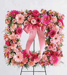 FTD Peaceful Thoughts Wreath (dobdeals.com) Tags: flowers wreaths eventsupplies