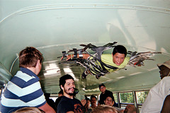 Boy taped to bus roof (SimsShots Photography) Tags: boys duct tape summerfun summervacation