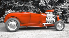 "1929 Model A Roadster • <a style=""font-size:0.8em;"" href=""http://www.flickr.com/photos/85572005@N00/9040965061/"" target=""_blank"">View on Flickr</a>"
