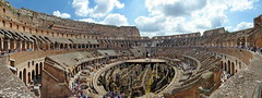 Colise en grand /Coliseum (Claude-Olivier Marti) Tags: rome roma italia coliseum italie panoramique colise grandangle